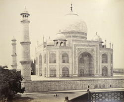 The Taj Mahal, Agra, NWP.